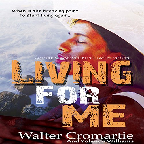 Living for Me audiobook cover art