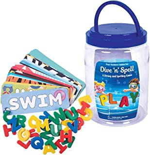 GAME 44024-BB Dive'n'Spell Kids Pool Toy, Multi