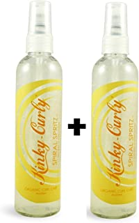 Kinky Curly Spiral Spritz 8oz (Pack of 2)