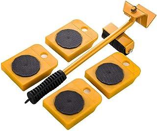 Meubelverplaatsingsgereedschap, verplaatsbaar meubelheffer-verplaatsingsgereedschap, met 4 glijrails, kan meubels en zware...
