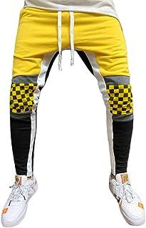 Men's Closed Bottom Casual Regular Fit Sweatpants Elastic Waist Running Hiking Outdoor Multi Sports
