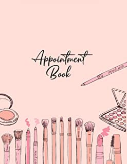 Appointment Book: Large Notebook Diary (Undated - Start Any Time) with 15 Minute Time Slots, 6 Days at a Glance