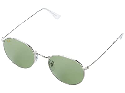 Ray-Ban 50 mm RB3447 Round Metal Sunglasses