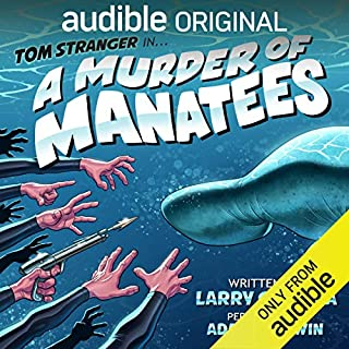 A Murder of Manatees audiobook cover art
