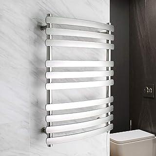 Toallero cuarto de baño, montaje en pared cuarto de baño calentador de toallas calentadores eléctricos calefactables de acero inoxidable radiador de 3 capas servicio de calefacción carril 3 + 3 + 4