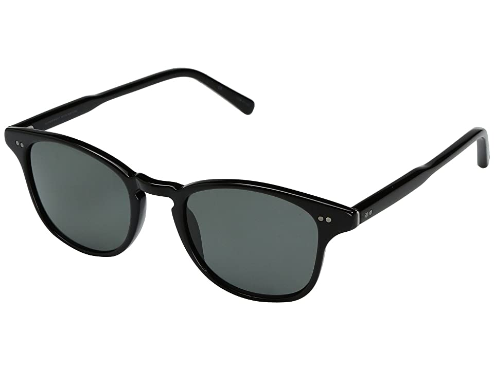 Shwood Kennedy Acetate Polarized (Black/Grey Polarized) Polarized Sport Sunglasses