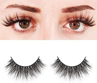 BEPHOLAN Mink Lashes| 100% Siberian Mink Fur Lashes| MIAMI Style| Dramatic Round Look| Long& Thick| Totally Cruelty-Free| Reusable &Handmade| Non-Irritating Fake Eyelashes| XMZ03
