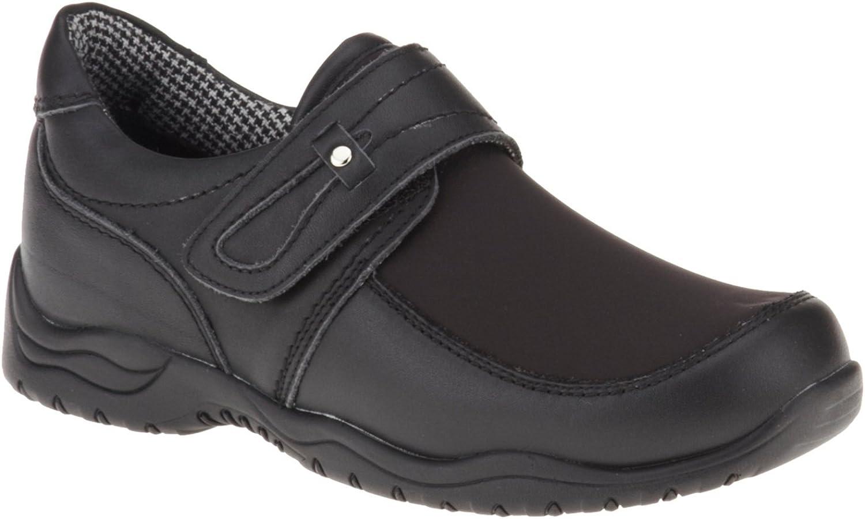 Drew Shoe Women's Antwerp Loafers, Black Leather, Polyurethane, 10 M