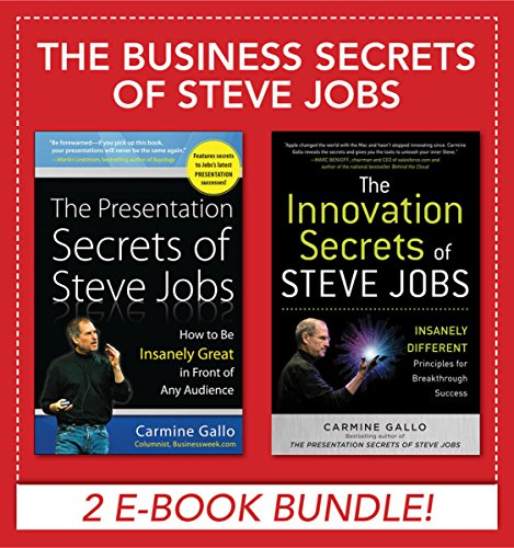 Business Secrets of Steve Jobs: Presentation Secrets and Innovation secrets all in one book! (EBOOK BUNDLE) (English Edition)