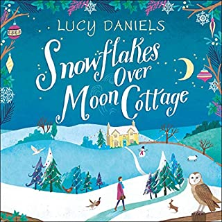Snowflakes over Moon Cottage cover art