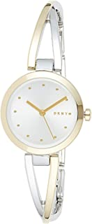 DKNY Crosswalk Women's Silver Dial Stainless Steel Analog Watch - NY2790