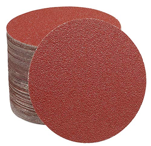 70 PZ Dischi abrasivi da 125 mm Fogli di sabbia a disco per carta vetrata 40 60 100 150 240 320 e 600 Levigatore a disco e smerigliatrice a grana grossa cuscinetti per levigatrice orbitali