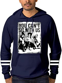 Dan-Wood You Can't Sit with Us Witches Men Pullover Hoodie 3D Print Graphic Hooded Pockets Sweaters