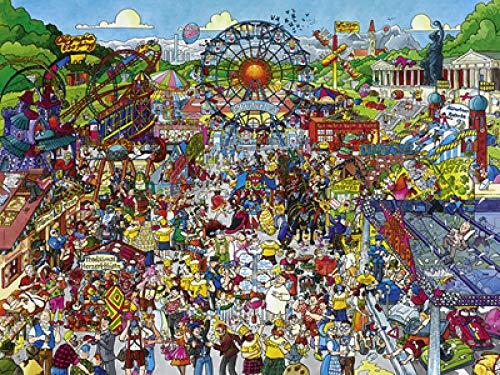 PRWJH Houten puzzels 1000 stukjes, puzzels voor volwassenen Houten puzzelspeelgoed, voor volwassenen Assembleren van speelgoed Cadeaus voor kinderen - Stout paard