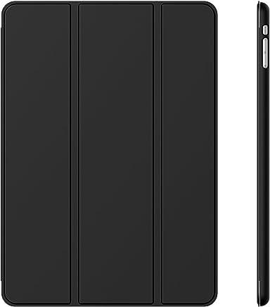 JETech Schutzhülle für Apple iPad Mini 1 2 3 (Nicht für iPad Mini 4), Smart Cover mit automatischer Sleep/Wake-Funktion, Schwarz