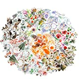 Molshine 320pcs Decorative Stickers-Forest Animal Plant Flowers Series Decals for DIY,Personalize,Bullet Diary Decoration,Laptops,Scrapbook,Luggage,Cars,Books,Sealing -8 Packs