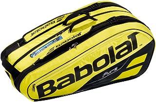 【9本収納】2019 バボラ ピュアアエロラケットバッグ 9本入 BB751181-191 (2019 Babolat Pure Aero Racket Holder x 9) 【2018年10月】(イエロー/ブラック)