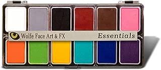 Wolfe FX Hydrocolor 12 color Palatte - Face Paint Kit Essentials