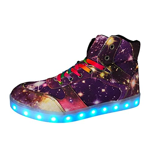 514e5062c01 DAYOUT LED Light up Shoes Flashing Sneakers Dance Shoes Fashion Sneaker for  Men Women Unisex for