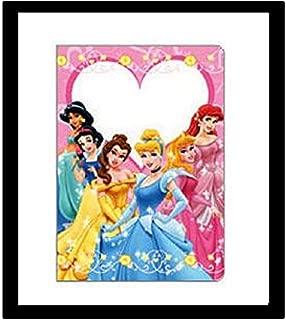 Disney PRINCESS Jasmine Ariel Snow White Cinderella Heart PASSPORT COVER HOLDER