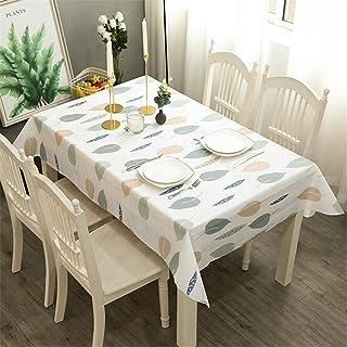 LMWB Bordsduk, duk, PVC bordsduk bordsduk vattentät och oljebeständig engångsbord-soffbord-bordsmatta-E_137 x 180 cm