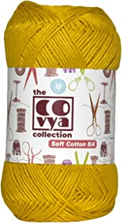 KACHVI 100% algodón 8/4 Ply Yarn Thread Balls para punto de ganchillo Home Decor Scarf Tassel Coaster guantes, ropa y proy...