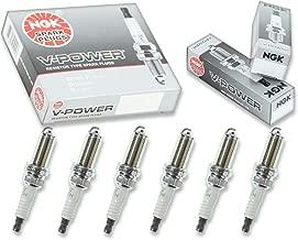 6 pcs NGK V-Power Spark Plugs for 2003-2007 Infiniti G35 3.5L V6 - Engine Kit Set Tune Up