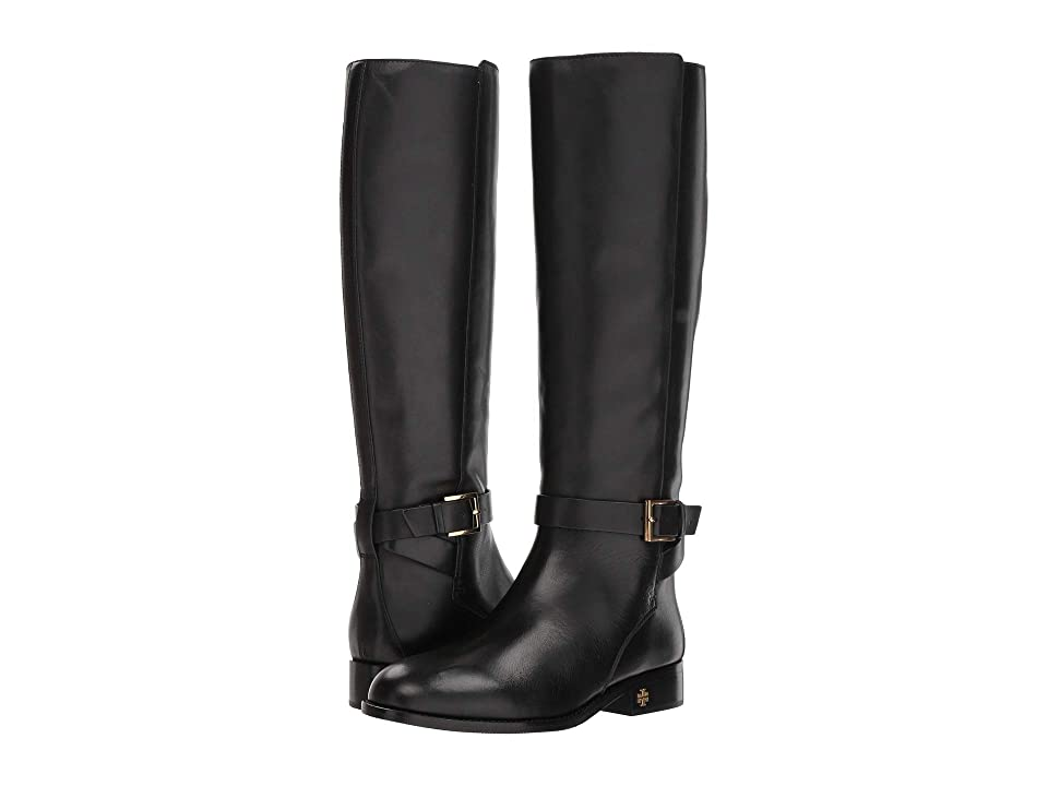Tory Burch Brooke 25mm Knee Boot (Perfect Black) Women