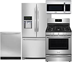 Frigidaire 4-Piece Smudge-Proof Stainless Steel Package, FGHF2366PF 36