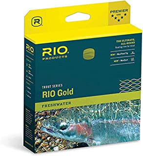 RIO Products Fly Line Rio Gold Wf5F Moss/Gold, Moss-Gold