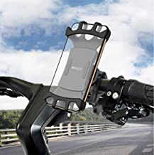 YESIDO Bike Phone Holder Mount Anti Shake and Stable Cradle Clamp with 360° Rotation Bicycle Phone Mount 3.5 to 6.5 inch