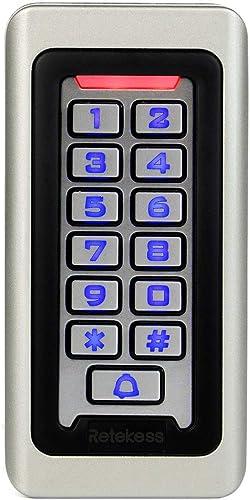 Retekess T-AC03 Security Access Control Keypad,RFID Keypad,Door Access Control,Stand-Alone Keypad,2000 Users,Wiegand ...