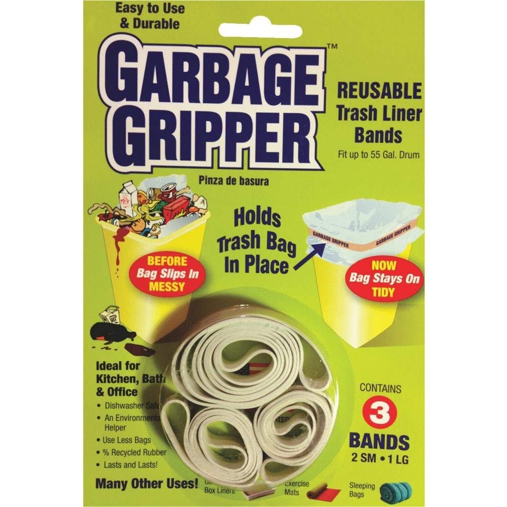 Garbage Gripper Corporation. Band. 3pk Excellent Max 53% OFF Pack of Two