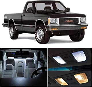 SCITOO 8Pcs White Interior LED Light Package Kit Replacement Bulbs Fits for GMC Sonoma 1998-2003