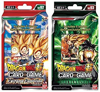 Dragon Ball Super Cross Worlds Starter Decks: Extreme Evolution and Dark Invasion