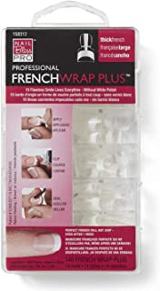 Nail Bliss French Wrap Plus, Thick, 140 Count
