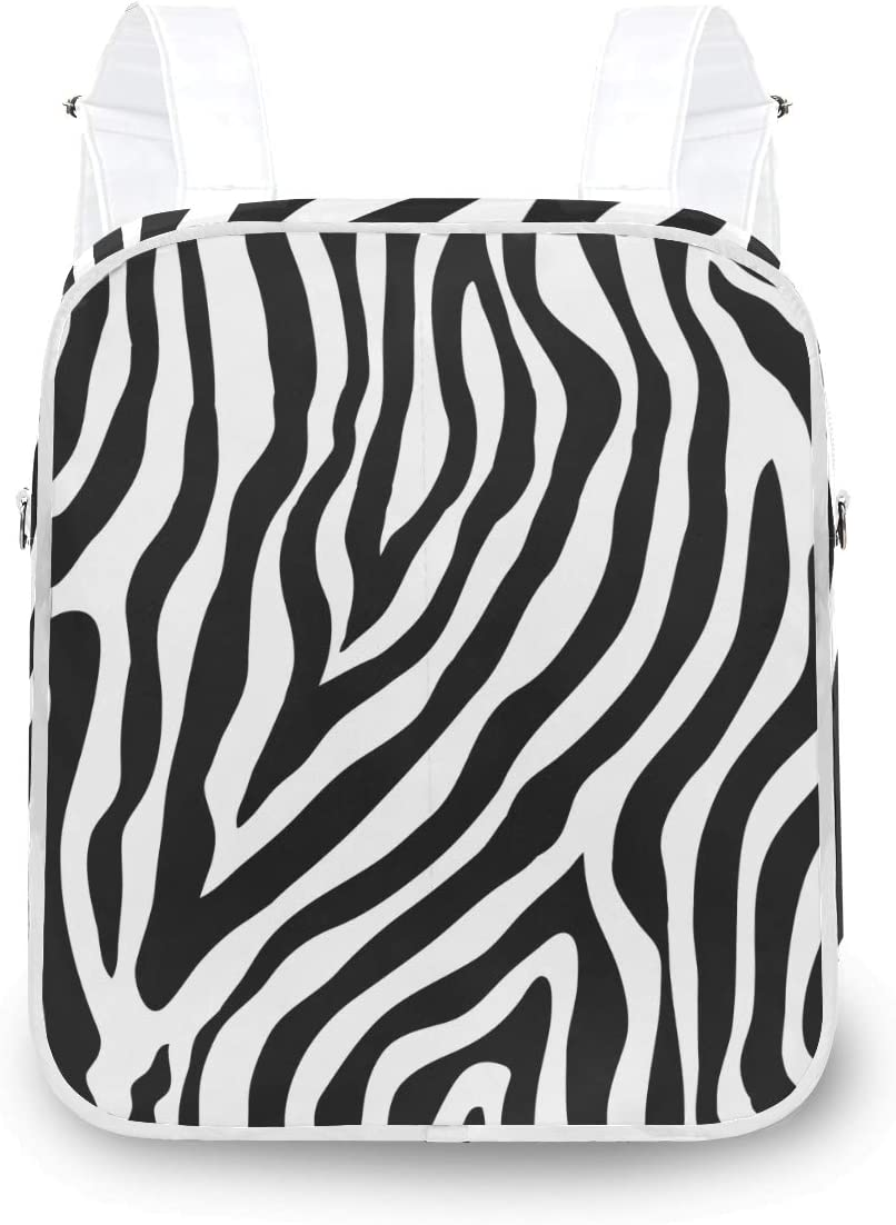 MOFEIYUE Women Backpack Abstract Animal Pattern Recommended 67% OFF of fixed price Shoulder S Zebra