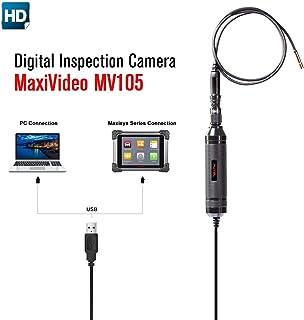Autel Inspektionskamera MV105 5.5 mm 1080P HD Video für Autel MaxiSys Series MS908P MS908 Produkte,digitalen Spreicherndaten und Videos aufnehmen,für Auto Diagnose