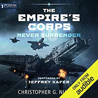 Never Surrender audiobook cover art