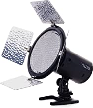 YONGNUO YN216 YN-216 LED Video Camera Light with 5600K Color Temperature and 4 Color Plates for Canon Nikon DSLR Cameras