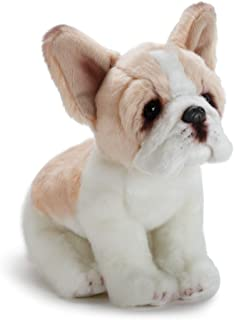 Nat and Jules Sitting Small French Bulldog Light Brown And White Children's Plush Stuffed Animal