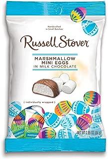 Russell Stover Milk Chocolate Marshmallow Mini Eggs, 2.95 oz. Bag