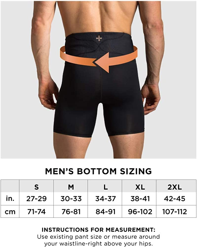 Tommie Copper Unisex-Adult Boxer Briefs W//Back Support
