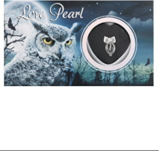 Owl Necklace Love Pearl Gifts Wish Pearl Necklace with Genuine Pearl Inside Pack of One