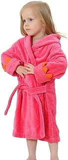 toddler girl terry bathrobe