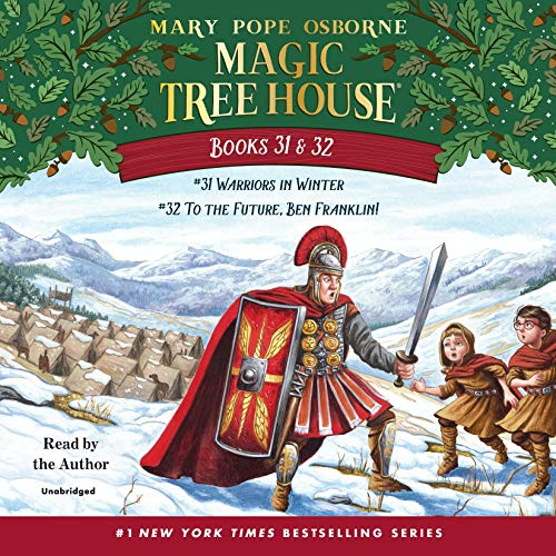 Magic Tree House: Books 31 & 32 audiobook cover art