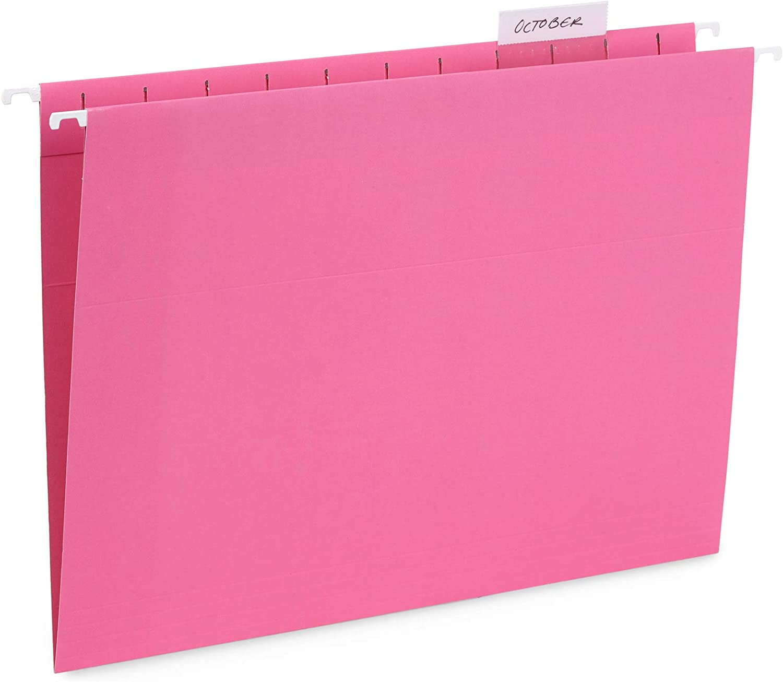 Blue Summit Supplies Hanging File 25 2021 Folders Luxury goods Reinforced Hang Fo