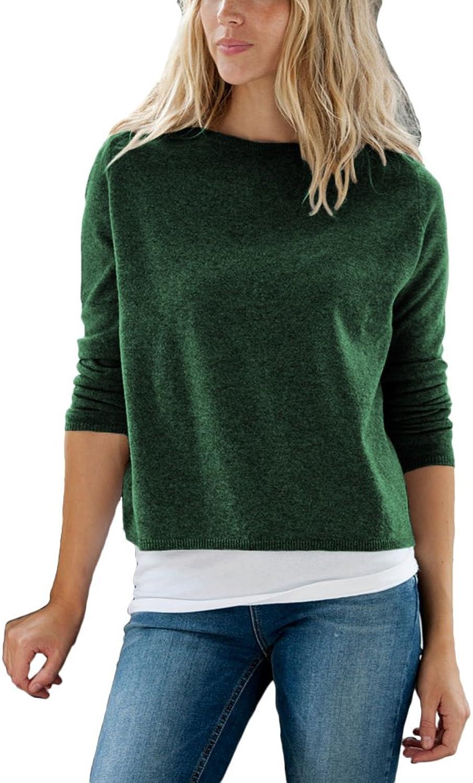 Parisbonbon Women's 100% Cashmere Short Style Sweater