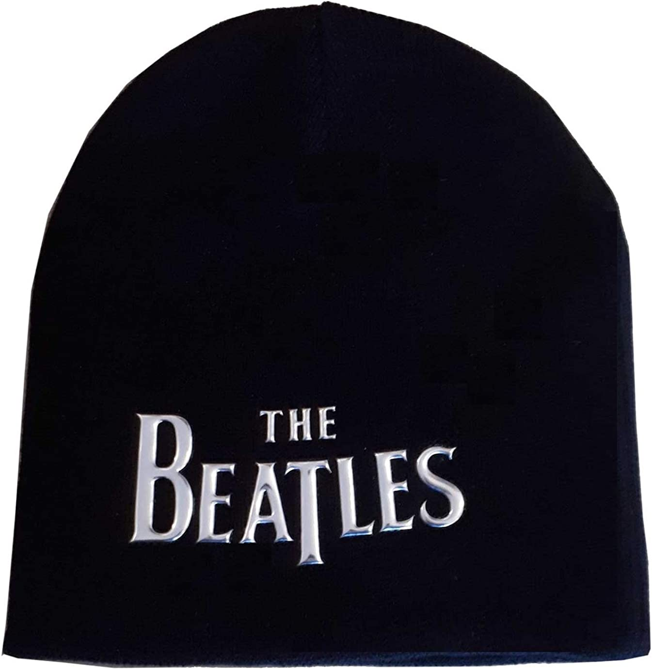 Beatles shipfree Beanie Sonic Silver Drop T Hat Knit Black Cheap mail order sales Logo Skully