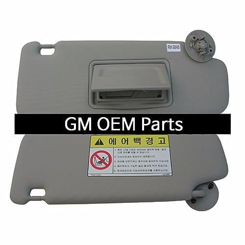 Interior inside Sun Visor Shade RH Gray For GM Chevrolet Sonic 2012+ OEM  Parts 3c0a5cfe465